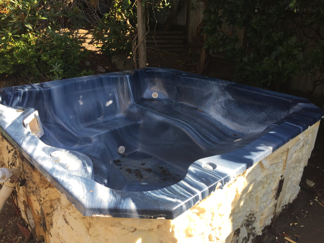 Hot Tub For Garbage