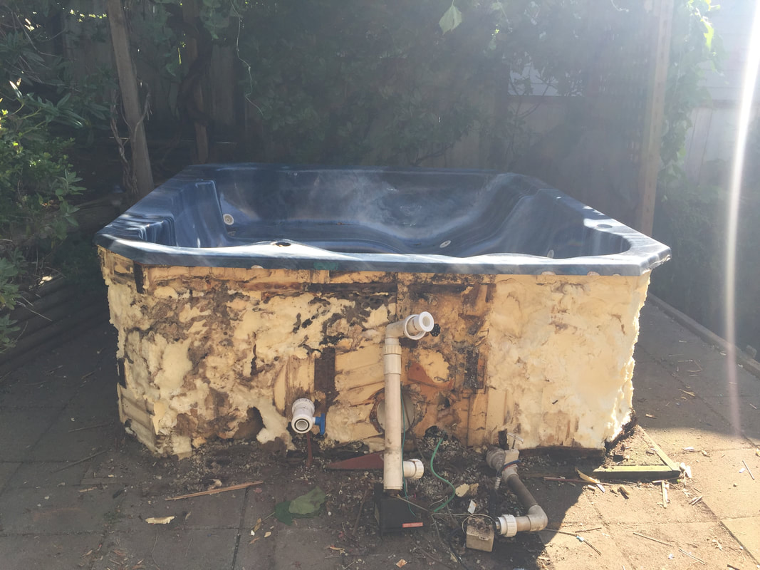 Coquitlam hot tub removal